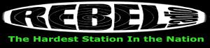 Rebel Radio Logo and Slogan png)